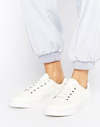 G Star Thec Low White Trainers White Textile