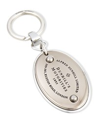 Kc Motorities Metal Key Chain Silver Alfred Dunhill