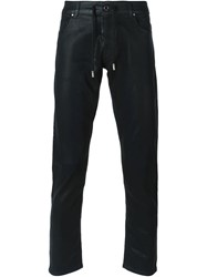 Diesel Black Gold Slim Coated Jeans