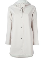Stutterheim Hooded Coat Nude And Neutrals