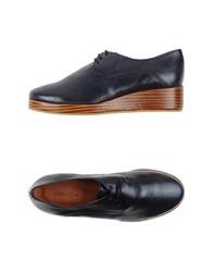 Sessun Lace Up Shoes Brown