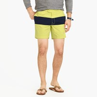 J.Crew 6.5 Tab Swim Short In Colorblock