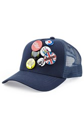 Dsquared2 Trucker Hat With Badges