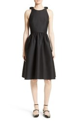 Kate Spade Women's New York Bow Back Fit And Flare Dress