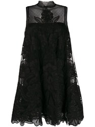 Red Valentino Floral Embroidered Short Dress 60