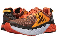 Hoka One One Gaviota Red Orange Gold Fusion Men's Running Shoes