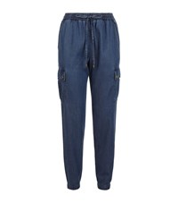 Michael Michael Kors Chambray Sweatpants Female Blue