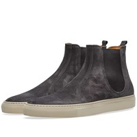 Buttero Tanino Suede Chelsea Boot Grey