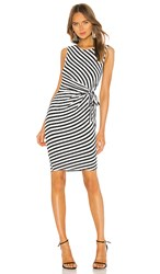 Bailey 44 Mandrill Dress In Black And White.
