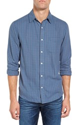Faherty Men's Ventura Trim Fit Tattersall Sport Shirt