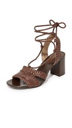 Michael Kors Collection Lawson City Sandals Nutmeg
