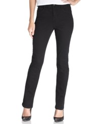 Styleandco. Style And Co. Petite Tummy Control Skinny Noir Wash Jeans
