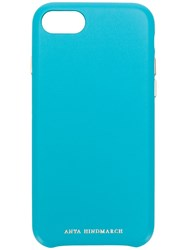 Anya Hindmarch Iphone 7 8 116220 Turquoise Blue