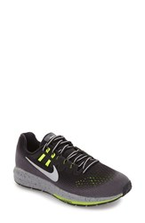 Nike Women's Air Zoom Structure 20 Running Shoe Black Metallic Silver