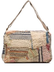 By Walid 19Th Century Patchwork Messenger Bag 60