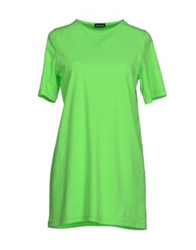 Charlott T Shirts Acid Green