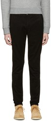 Rag And Bone Black Fit 1 Chino Trousers