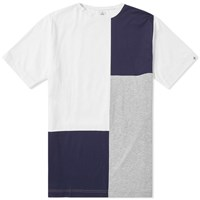 Head Porter Plus Panel Tee White