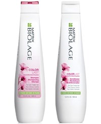 Matrix Biolage Colorlast Shampoo And Conditioner Two Items 13.5 Oz From Purebeauty Salon And Spa