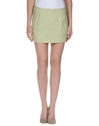 Ice Iceberg Mini Skirts Light Green