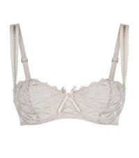 Aubade Bahia Couture Balconette Bra Female Neutral