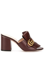 Gucci Double G Mules 60