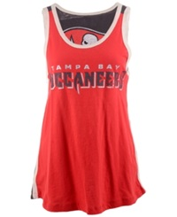 G3 Sports Women's Tampa Bay Buccaneers Home Game Tank Top Black Red White