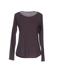 Laura Urbinati T Shirts Dark Brown