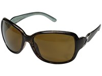 Suncloud Polarized Optics Weave Tortoise Backpaint Frame Brown Polycarbonate Lenses Fashion Sunglasses Black