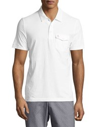 Original Penguin Smack Cotton Blend Polo Shirt White