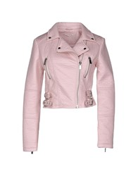 Supertrash Coats And Jackets Jackets Women Pink