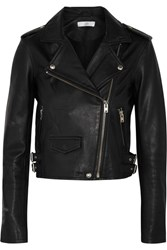 Iro Ashville Leather Biker Jacket Black