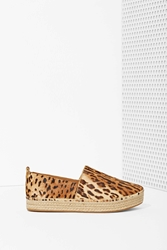 Nasty Gal Steve Madden Pacific Leather Shoe Tiger