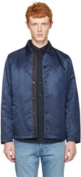 Rag And Bone Navy Matty Jacket