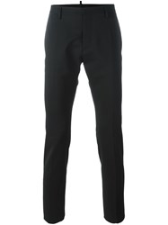 Dsquared2 Skinny Fit Trousers Black