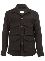 Song For The Mute Pocketed Military Jacket Black