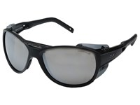 Julbo Eyewear Explorer 2.0 Sunglasses Matte Black Gray Athletic Performance Sport Sunglasses