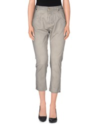 Pence Denim Denim Capris Women Grey