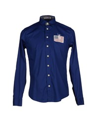 Beverly Hills Polo Club Shirts Shirts Men Blue