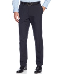Kenneth Cole Reaction Slim Fit Windowpane Dress Pants