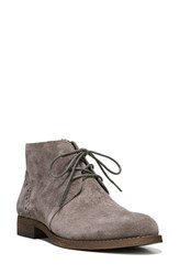 Franco Sarto Women's 'Heathrow' Lace Up Bootie Nimbus Grey Suede