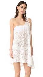 6 Shore Road By Pooja Pebble Beach Cover Up Dress Moonlight White