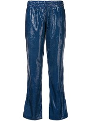 History Repeats Side Stripe Trousers Blue
