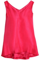 Paper London Shantung Top Bright Pink