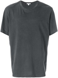 James Perse Loose Fit T Shirt Grey
