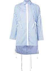 Rosetta Getty 'Tuxedo' Shirt Blue