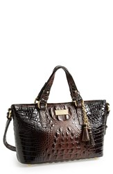 Brahmin 'Melbourne Mini Asher' Tote Brown Cocoa