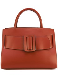 Boyy Buckle Detail Tote Women Calf Leather One Size Brown