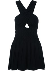 Jay Ahr Criss Cross Dress Black