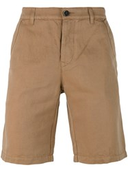 Barena Classic Shorts Brown
